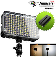 Aputure Amaran AL-H160 CRI95+ LED Camera Video Light + Rechargeable Battery kit