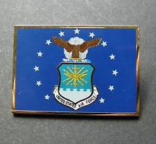 US AIR FORCE USAF LARGE RECTANGLE LAPEL PIN BADGE 1.5 INCHES