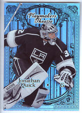 12/13 Fleer Retro Playmakers Theatre #10 Jonathan Quick #044/100