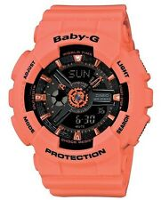 Casio Baby-G * BA111-4A2 Anadigi Orange Watch for Women Ivanandsophia COD PayPal