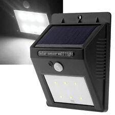 6LED Détecteur Mouvement Solaire Lampe Lumiere Chemin Jardin Extérieur Eclairage