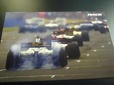 Formula one starting grid 2002