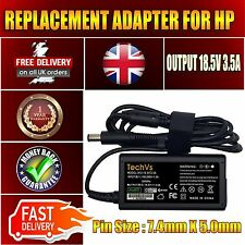 GENUINE TECHVS FOR HP COMPAQ 609939-001 G62-B06ED 18.5v 3.5a  LAPTOP ADAPTER