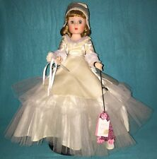 """VINTAGE 20"""" AMERICAN CHARACTER 1957 SWEET SUE SOPHISTICATE BRIDE DOLL *RARE*"""