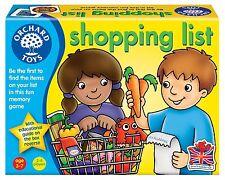 * Nuevo * Orchard Toys lista de compras Educativo Niños Juego de Rol Juego De Mesa Juguete
