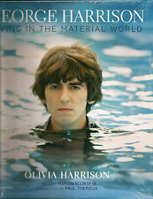 LIVRE  GEORGE HARRISON  LIVING IN THE MATERIAL WORLD neuf sous blister