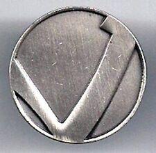 """Star Trek KLINGON Commander Rank Pin- 7/8"""" Pewter (STPI-KLCmdr)"""