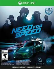 Need for Speed Microsoft Xbox One FREE SHIPPING Used Complete ea racing 2015