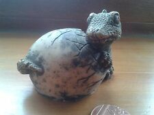 Baby Dragon 'Hatching' Ornament (Resin) Vintage 1980s