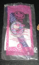 2008 Hello Kitty McDonalds Happy Meal Toy Watch - Purple Fairy #3
