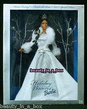 2003 AA Holiday Visions Winter Fantasy Barbie Doll African American NRFB
