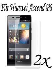 Displayfolie für Huawei Ascend P6 Schutzfolie 2 Stück huwei