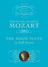 Wolfgang Amadeus Mozart The Magic Flute In Full Score Play ORCHESTRA Music Book