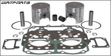 WSM Complete Top End Rebuild Kit Sea Doo 580 Yellow 77mm 010-815-24