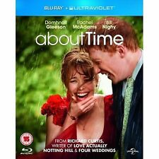 About Time (with UltraViolet Copy) [Blu-ray] Richard Curtis Gleeson Mcadams 24/7