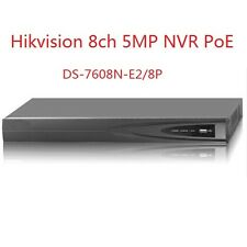 HIKVISION DS-7608N-E2/8P 8CH& 8POE NVR HD 5MP 3MP for Network IP Camera System