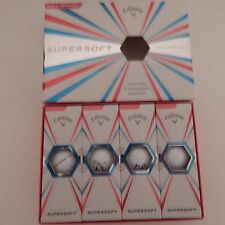 Callaway SuperSoft 6 Dozen New for 2017 White Golf Balls Long! NO RESERVE PRICE!