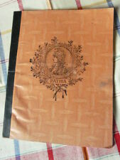 ANCIEN CAHIER COUTURE ATELIER