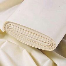 "Archives Designs Curtain Lining Highest Quality cotton Twill Ivory 80"" Easy Care"