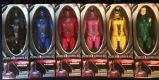 "2017 Power Rangers Movie 6 Lot 12"" Pink Black Yellow Blue Red Zita Repulsa VHTF"