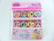 Brand New!! KAWAII Disney PRINCESS BENTO accessories straight FOOD PICKS