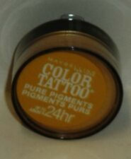 Maybelline Eye Studio Color Tatoo Pure Pigment 24hr Eye Shadow WILD GOLD #25