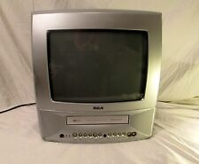 """TV VCR Combo Unit RCA T13208 W/ Remote and Users Guide + Additional Features 13"""""""