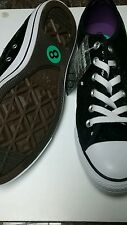 Converse All Star Men Sneakers Low Black Ornament Size 8