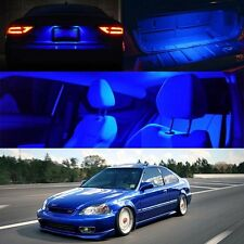 96-00 Civic Si Blue LED Bulb Interior FULL PACKAGE Map Dome Trunk License Plate