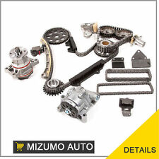 Timing Chain Kit w/ Water Pump & Oil Pump Fits Suzuki Chevy 2.5L 2.7L H25A H27A