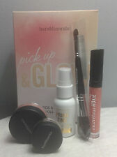 BARE MINERALS PICK UP & GLOW 5-PIECE ILLUMINATING COLLECTION; PRIMER BLUSH.. NIB
