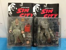 McFarlane Toys Sin City Marv Black and White (BW) and Color variant set