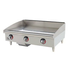 Star Manufacturing 536TGF, 36-Inch Star-Max Countertop Electric Griddle, UL-EPH,