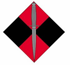 4 RAR COMMANDO LAMINATED VINYL STICKER 95MM HIGH IRAQ AFGHANISTAN