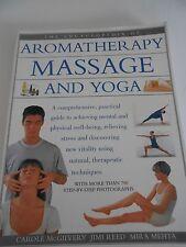 Aromatherapy Massage and Yoga Book