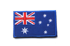AUSTRALIA FLAG AUSTRALIAN FLAG MILITARY ARMY TACTICAL EMBROIDERED VELCRO PATCH