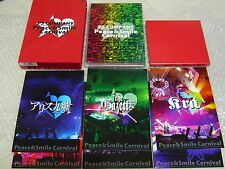 PS CONPANY(Gazette,Alice Nine,miyavi,SuG...) DVD Peace & Smile Carnival / Japan