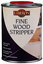 LIBERON FINE WOOD PAINT & VARNISH STRIPPER 500ml