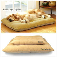 Extra Large Warm Soft Fleece Puppy Pets Dog Cat Bed Cushion Pillow Mat 3 Size UK