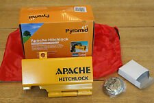 New Pyramid Apache Hitchlock caravan padlock heavey duty steel hitched unhitched