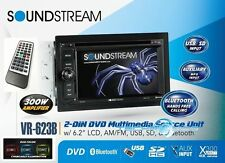 "SOUNDSTREAM VR-623B +2YR WARANTY CAR 6.2"" TOUCHSCREEN CD DVD MP3 PLAYER STEREO"