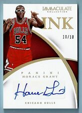 HORACE GRANT 2014/15 PANINI IMMACULATE INK SIGNATURE AUTOGRAPH AUTO # 10/10