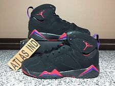 AIR JORDAN 7 RETRO Raptors Charcoal Nike VII 1 3 4 6 8 9 11 DB Bordeaux Flint 5Y