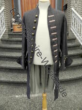 Jack Sparrow Exact Linen Silk Frock Coat Jacket (not full costume)