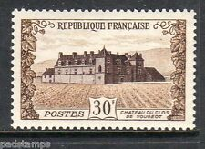 France 1951 30fr Chateau Clos Vougeot  vf Mint  hinged SG 1135