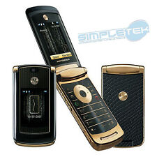 Motorola RAZR V8 2GB LUXURY GOLD EDITION (Sbloccato) Cellulare UK Grade A ➕ ➕ ➕