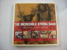 INCREDIBLE STRING BAND - ORIGINAL ALBUM SERIES - 5CD BOXSET NEW SEALED 2012