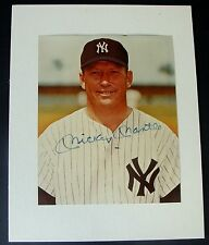 MICKEY MANTLE signed Photo Autograph New York Yankees  JSA