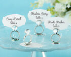 18 With This Ring Place Card Holders Bridal Shower Wedding Favors