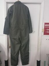 U.S. MILITARY ISSUE CWU-27/P FLIGHT SUIT -  TAN - 46R - Preowned